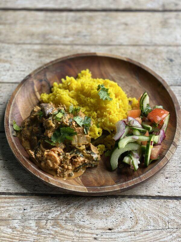 Vegan Curry a la Dickster