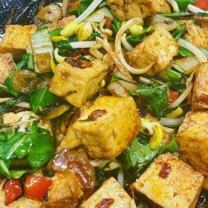Makanan Pesta Vegan